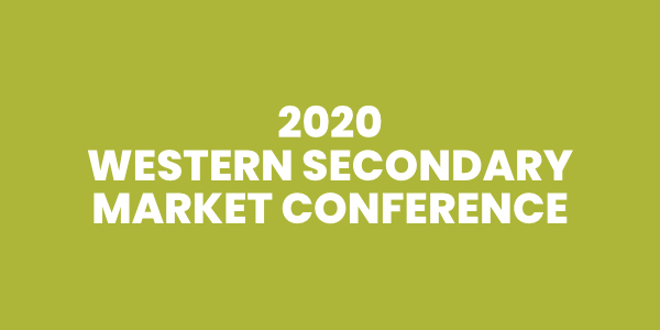 2020 Western Secondary Market Conference