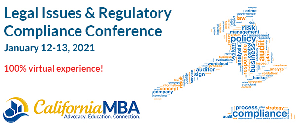 2020 Legal Issues & Regulatory Compliance Conference