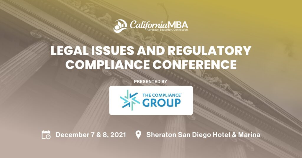 2021 Legal Issues & Regulatory Compliance Conference
