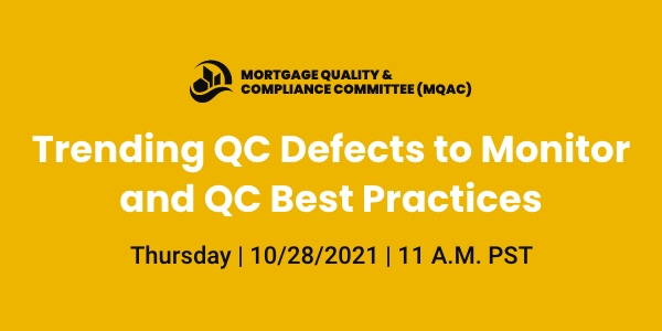 October MQAC Webinar